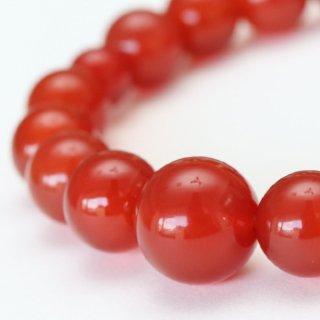 数珠ブレスレット 約10ミリ 本瑪瑙 107100008