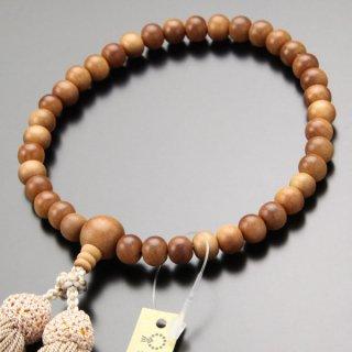 数珠 女性用 約8ミリ 白檀(インドネシア産)正絹房 2000200301295