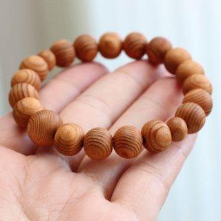 ≪在庫処分≫数珠ブレスレット 約10×11ミリ 屋久杉 2000800201674