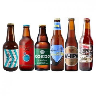 国産クラフトビール IPA 飲み比べセット 6本 【送料無料】