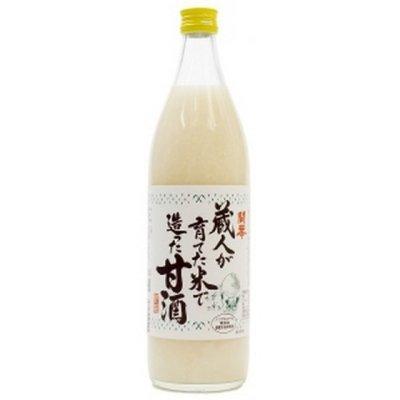 開華 蔵人が育てた米で造った甘酒 900ml 12本入り