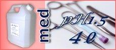 医療・研究用 ミ:ラグロ (pH1.5) ポリ容器4リットル