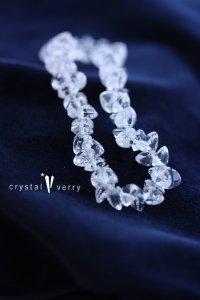 水晶 ハートブリリアント ブレスレット