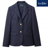 <img class='new_mark_img1' src='https://img.shop-pro.jp/img/new/icons1.gif' style='border:none;display:inline;margin:0px;padding:0px;width:auto;' />EASTBOY 制服 ブレザー 女子用 濃紺 7-13号 金ボタン エンブレム無し 中学/高校/スクール
