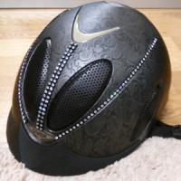 ヘルメット ペイズリー スワロフスキー