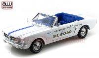 オートワールド 1964 1/2 フォード マスタング Conv. インディアナポリス 500 オフィシャルペースカー 1:18