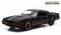 グリーンライト 1979 シボレー カマロ Z28 ブラック 1:18
