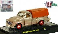 M2 TRUCKS #34 w/ CASES 1949 スチュードベーカー 2R トラック ブラウン 1:64