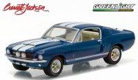 グリーンライト バレット・ジャクソン#1 1967 シェルビー GT500 ブルー 1:64