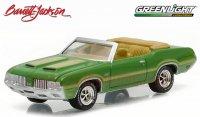 グリーンライト バレット・ジャクソン#1 1970 オールズモビル カトラス 442 グリーン 1:64