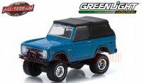 グリーンライト ALL-TERRAIN #2 1975 フォード ブロンコ ブルー 1:64