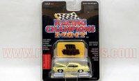 RACING CHAMPIONS 1969 ポンティアック GTO THE JUDGE ライトイエロー 1:64