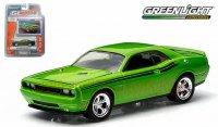 グリーンライト GL MUSCLE 2011 ダッジ チャレンジャー R/T ライムグリーン 1:64