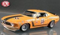 限定1050個 ACME 1970 フォード マスタング BOSS302 #15 Parnelli Jones 1:18