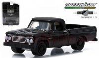 グリーンライト ブラックバンディット#13 1963 ダッジ D-100 1:64