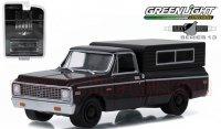 グリーンライト ブラックバンディット#13 1972 シボレー C10 キャンパー 1:64