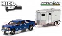 グリーンライト HITCH&TOW #5 2015シルバラード & ホーストレーラー1:64