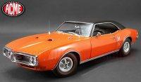 限定504個 ACME 1968 ポンティアック ファイヤーバード オレンジ w/ ブラックトップ 1:18