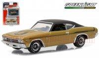 グリーンライト GL MUSCLE #15 1969 YENKO COPO シェベル シャンパンゴールド 1:64