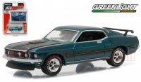 グリーンライト GL MUSCLE #15 1969 フォード マスタング MACH1 グリーン 1:64