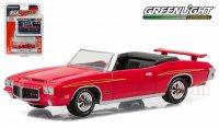 グリーンライト GL MUSCLE #15 1971 ポンティアック GTO ジャッジ レッド 1:64