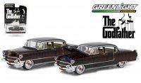グリーンライト HOLLYWOOD #14 1955 キャデラック フリートウッド シリーズ60 映画「ゴッドファーザー」 1:64