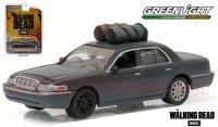 グリーンライト HOLLYWOOD #14 2001 フォード クラウンビクトリア ドラマ「ウォーキング デッド」 1:64