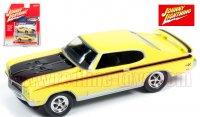 ジョニーライトニング MUSCLE CARS U.S.A #A 1971 ビュイック GSX イエロー 1:64