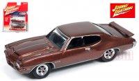 ジョニーライトニング MUSCLE CARS U.S.A #A 1971 ポンティアック GTO バーガンディ 1:64
