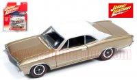 ジョニーライトニング MUSCLE CARS U.S.A #A 1967 シボレー シェベル SS ゴールド 1:64
