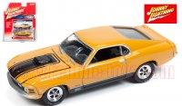 ジョニーライトニング MUSCLE CARS U.S.A #A 1970 フォード マスタング MACH1 オレンジ 1:64