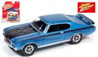 ジョニーライトニング MUSCLE CARS U.S.A #B 1971 ビュイック GSX ブルー 1:64