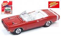 ジョニーライトニング MUSCLE CARS U.S.A #B 1969 ダッジ コロネット コンバーチブル レッド 1:64