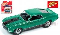 ジョニーライトニング MUSCLE CARS U.S.A #A 1970 フォード マスタング MACH1 グリーン 1:64