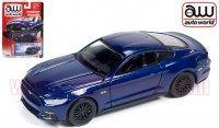 Autoworld 2015 フォード マスタング GT ダークブルー 1:64