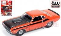 Autoworld 1970 ダッジ チャレンジャー T/A オレンジ 1:64