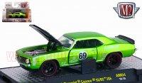 M2 Auto-Mods#4 1969 シボレー カマロ SS/RS 396 グリーン 1:64