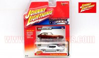 JL MUSCLE CARS U.S.A #B 1971 ポンティアック GTO 1:64 WhiteLightning