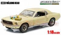 グリーンライト 1967 フォード マスタング w/ Massage & Supplies 「ザ・ウォーキング・デッド」 1:18