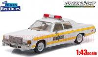 グリーンライト 1977 ダッジ ロイヤル モナコ イリノイ州警察 「ブルースブラザース」 1:43
