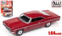 Autoworld 1966 シボレー インパラ SS HT レッド1:64