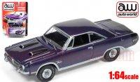 Autoworld 1971 ダッジ ダート スウィンガー HT パープル 1:64