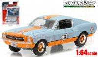 グリーンライト GL MUSCLE16 1967 フォード マスタング Gulf Racing 1:64