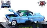 M2 AUTO-THENTICS #37 1954 マーキュリー サンバレー ライトブルー 1:64