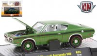 M2 Detroit Muscle #35 1969 プリムス バラクーダ 340 グリーン 1:64
