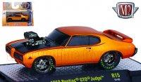 M2 Ground Pounders#15 1969 ポンティアック GTO ジャッジ オレンジ 1:64