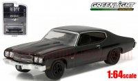 グリーンライト ブラックバンディット #15 1970 シボレー シェベル SS 1:64