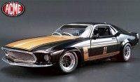 限定852個 ACME 1969 フォード マスタング BOSS302 #11 SMOKEY YUNICK 1:18