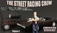 アメリカンジオラマ ストリート レーシング フィギュア � 1:18