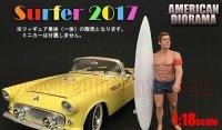 アメリカンジオラマ フィギュア サーファー 2017 グレッグ 1:18